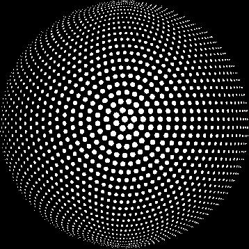 background dots circle