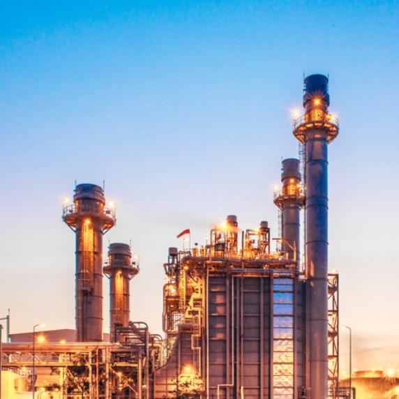 Power plants, oil & gas